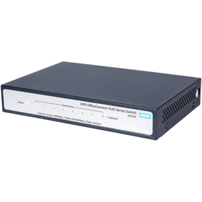 Hình ảnh HPE OfficeConnect 1420 8G PoE+ (64W) Switch (JH330A)