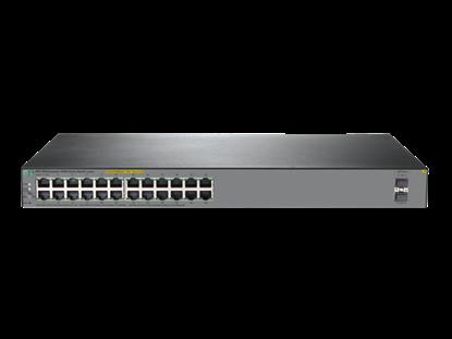 Hình ảnh HPE OfficeConnect 1920S 24G 2SFP PoE+ 370W Switch (JL385A)