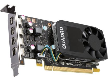 Picture of NVIDIA Quadro P620 (2 GB GDDR5, 4 x Mini Displayport) Graphics