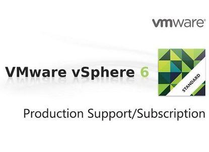 Hình ảnh Production Support/Subscription VMware vSphere 6 Standard for 1 processor for 1 year (VS6-STD-P-SSS-C)