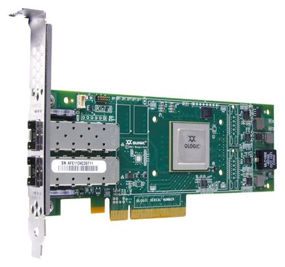 Picture of HPE StoreFabric SN1000Q 16GB 2-port PCIe Fibre Channel Host Bus Adapter (QW972A)