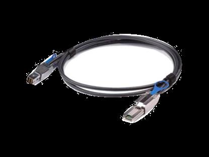 Picture of HPE 2.0m External Mini SAS High Density to Mini SAS Cable (716191-B21)