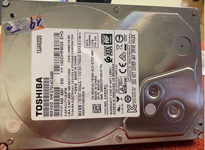 "Hình ảnh Dell 2TB 3.5"" Serial-ATA (7,200 RPM) Hard Drive (06HFW3)"
