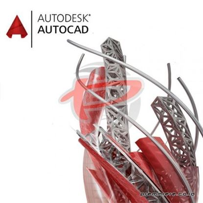 Hình ảnh AutoCAD - including specialized toolsets AD Commercial New Single-user ELD Annual Subscription (C1RK1-WW1762-T727)