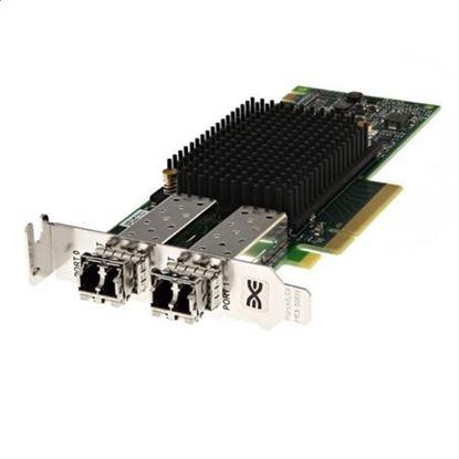 Picture of Emulex LPe31002-M6-D Dual Port 16Gb Fibre Channel HBA, Low Profile