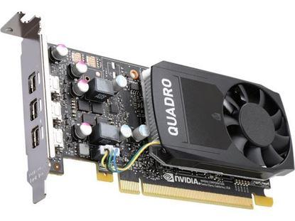 Hình ảnh NVIDIA Quadro P400, 2GB, 3 mDP to DP adapter