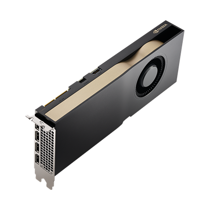 Picture of NVIDIA RTX A5000 (24GB ECC GDDR6; 4 x DisplayPort 1.4, PCIe x16) Graphics